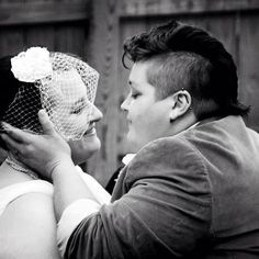 Today's featured couple! #love #gaymarriage #justmarriage #marriage #wedding #lesbian