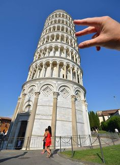 #213-Hold up the leaning tower of pisa. Because those pictures are so cool :3 You can't tell me you don;t want to at least a little bit. :D