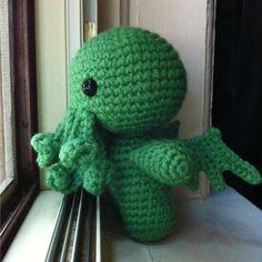 Another Cthulhu crochet pattern - Rural Rebellion