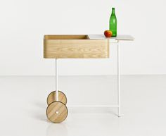 Cart is a minimal cart design by bao-nghi droste, which is a German-based design firm.