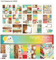 Simple Stories Good Day Sunshine Collection Kit     #simplestories and #Good Day Sunshine