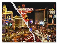 The Strip by Philippe Hugonnard Photographic Print on Wrapped Canvas
