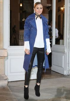Every Look Olivia Palermo Wore Through Paris Fashion Week - March 2017