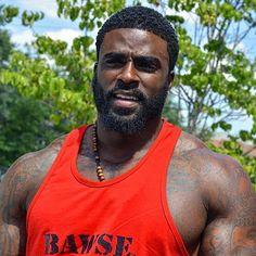 Thank u u r good taste Black Muscle Men, Fine Black Men, Hot Black Guys, Gorgeous Black Men, Handsome Black Men, Fine Men, Beautiful Men, Hot Guys, Black Man