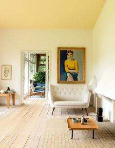 """""""Une maison typiquement scandinave"""" says Marie Claire Maison. It's the home of Finn Juhl. Home Interior, Interior Architecture, Interior And Exterior, Interior Decorating, Scandinavian Interior, Scandinavian Style, Sweet Home, Living Spaces, Living Room"""