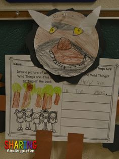 Grab this writing prompt sheet for Where the Wild Things Are!