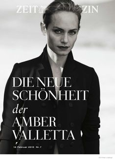 AMBER VALLETTA STUNS IN BLACK & WHITE PHOTOS BY PETER LINDBERGH FOR ZEIT