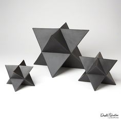 Sculpture - S/3 Star Objet-Matte Black : Global Views : Palette App : Simply Powerful