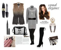 """""""Bez naslova"""" by velida-husic ❤ liked on Polyvore featuring SPANX, Unreal Fur, Wallis, Carianne Moore, Finn, MANGO, Marc Jacobs, Max Factor, Borghese and Stop Staring!"""