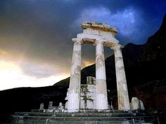 Oracle of Delphi, Greece http://en.wikipedia.org/wiki/Delphi