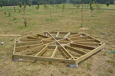 This would serve nicely as a platform for a Bell Tent...