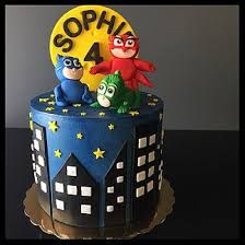 Image result for pj masks birthday cakes