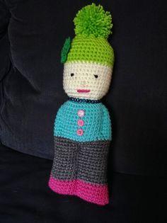 The Shtick I Do!: Crochet Comfort Doll Pattern