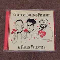 A Tenors Valentine by CARRERAS, DOMINGO, PAVAROTTI (CD, Music, Classical, 1999) #OperaOperaOperaOpera