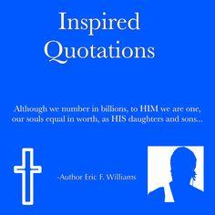 #AuthorEFW #InspiredQuotations