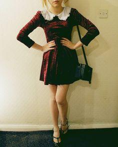 velvet dresses 30