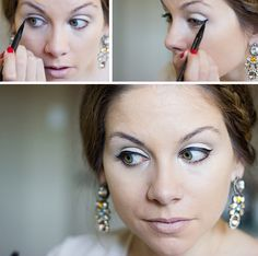 """How to get """"Winged Eyeliner"""""""