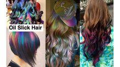 39 Best Oil Slick Petrol Deisel Hair images | Hair, Dyed