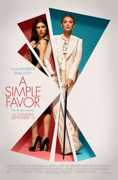 A Simple Favor – Anna Kendrick – U.S Movie Wall Poster Print - x / 12 inches x 17 inches Blake Lively Anna Kendrick, Web Design, Layout Design, Creative Design, Blake Lively, Graphic Design Posters, Graphic Design Inspiration, New Movies, Movies And Tv Shows