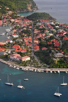 Gustavia of the island of Saint Barthélemy
