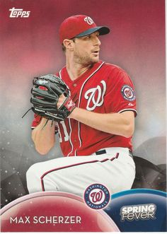 2016 Topps Spring Fever Washington Nationals Lot  Max Scherzer SF-28 #WashingtonNationals