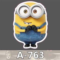 763 Emoji Stickers For Children Anime Funny Cartoon Stickers Home Decor Wall Car Skateboard Sticker Kids Toys