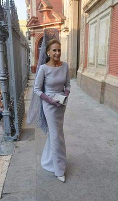 Madrina en boda de Luis y Carla (Sevilla)