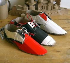 mark-obrien.co.uk - OBJECTS paper shoes