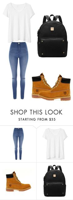 """Untitled #43"" by evalia1291 on Polyvore featuring Jane Norman, Gap and Timberland"
