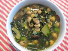 Kale & Garbanzo Bean Soup | Tasty Kitchen: A Happy Recipe Community!