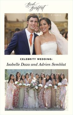 Isabelle Daza and Adrien Semblat wedding in Tuscany
