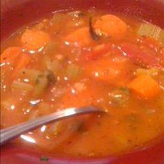 5 Minute Vegetable Soup ( in Pressure Cooker )