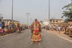 The International Festival of Porto-Novo is the capital's annual celebration of Benin's cultural diversity. The theme of this year's festival is Ogoun, one of the spiritual entities of the voodoo religion African Voodoo, First Instagram Post, International Festival, African Culture, Ivory Coast, Africa Travel, The Guardian, Egypt, Celebrities