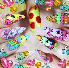 My little pony Clara h. nails