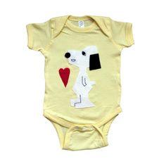 6c13815210 mi cielo x Snoopy Heart - Infant Bodysuit