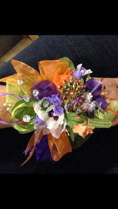 I designed my dates prom corsage