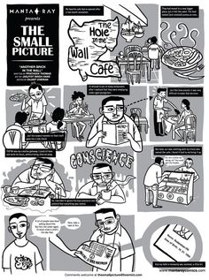72   Another brick in the wall - The Small Picture by Pratheek Thomas & Jasjyot Singh Hans is a personal story set in The Hole in the Wall Café, Bangalore.
