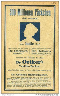 Original-Werbung/Inserat/ Anzeige 1908 - 300 MILLIONEN PÄCKCHEN / DR.OETKER'S...  - ca. 180 x 115 mm