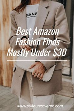 Best Amazon Fashion Finds Mostly Under $30 | Style Uncovered
