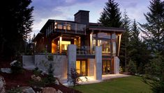 The Compass Pointe House in Whistler, Canada | HomeDSGN, a daily source for inspiration and fresh ideas on interior design and home decoration.