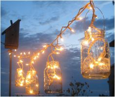 wire for mason jar lanterns - Google Search