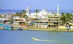 El puerto pesquero de Alvarado, Veracruz