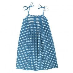 love the smocking and the print.