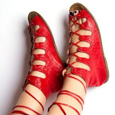 Siena Women's Red, $135, now featured on Fab.