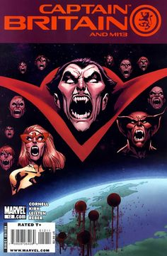 Captain Britain and MI:13 #12 - Vampire State, Part Two (Issue)