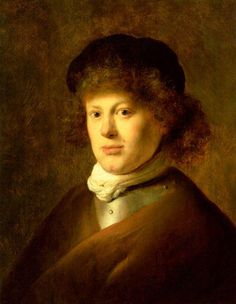 Jan Lievens, Portrait of Rembrandt, 1628, Rijksmuseum