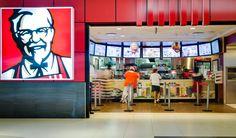 KFC Digital Menu Boards Curved layout