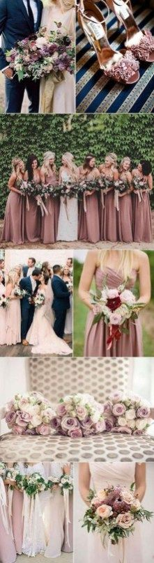 Unique Color Combinations Ideas For Winter Weddings 42