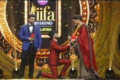 Why Ranveer got on his knees for Deepika | IIFA 2015 | Bollywood | Vogue India