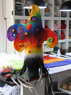 fantastic felt hat by Pam DeGroot